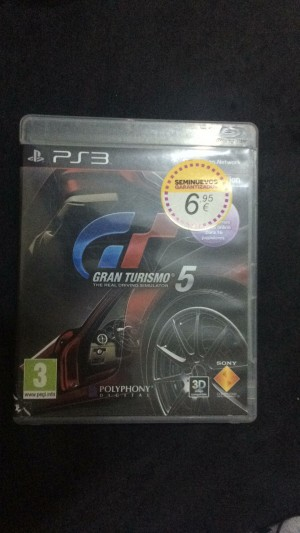 Gran turismo 5 for ps3 second hand