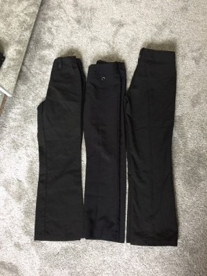 Girls school trousers age 9-10