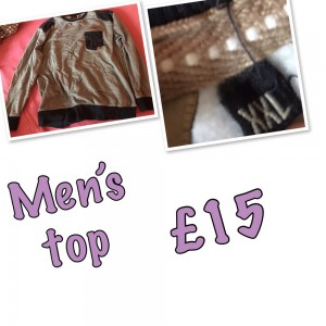 Men and woman's top