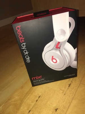 Beats by Dre Mixr On-Ear Headphones - White