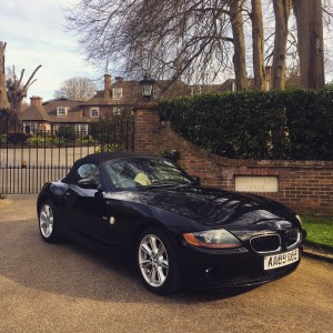 BMW Z4 2.0 Litre convertible - £2995
