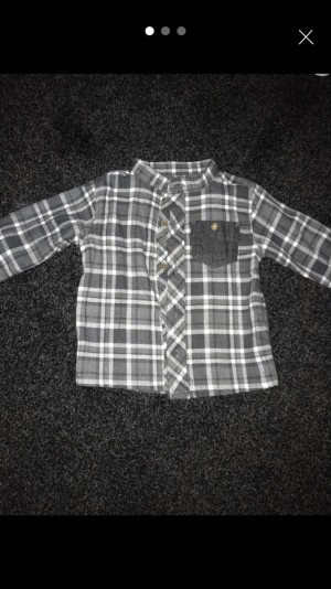 0-3 baby boy shirt and jeans
