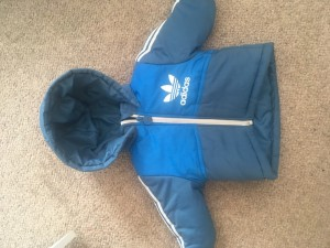 Infant boys Adidas coat