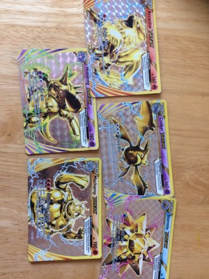 Pokemon break card set (collect only)