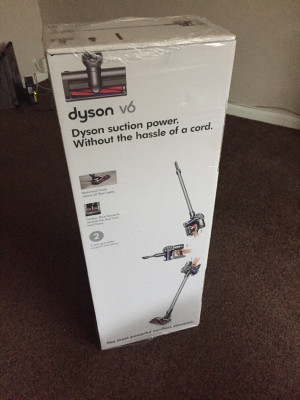 dyson v6 vacuum cleaner cordless