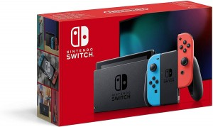 Nintendo Switch Neon-Red / Neon-Blue (new Version 2019)