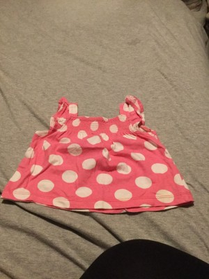 Baby Girls Sleeveless Top - Aged 3-6 Months