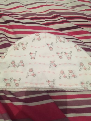 Baby girls hat 0-3 months