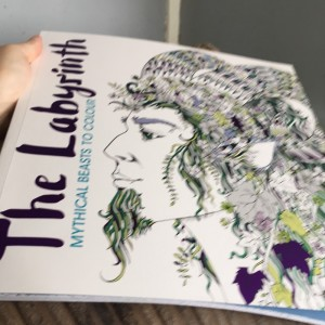 The labyrinth mythical beats to colour book