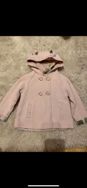 Ted Baker baby pink quilted jacket/coat
