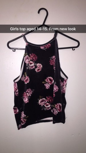Rose top from new look