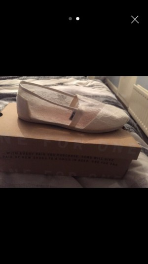 Toms size eight