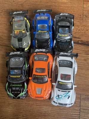 Extreme toy cars x6