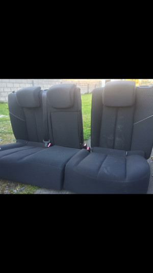 Rear seats off a Renault Megane 3dr