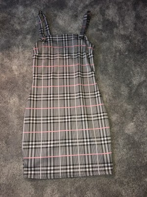 Long plaid dress