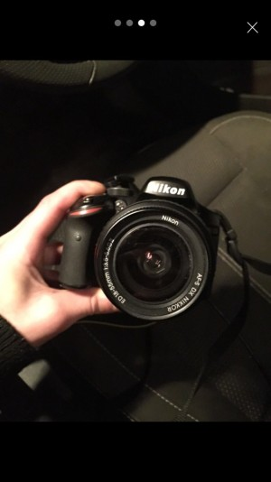 Nikon D3200 digital camera with DX LENS