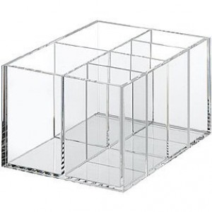 Acrylic Partition Desk Tidy