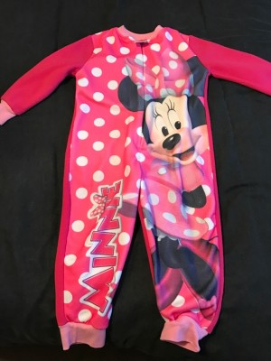 girls Minnie onesie