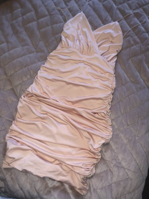oh polly low back dress size 8 worn once