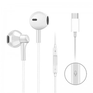 High Quality USB C Digital Earbuds with Microphone Noise Cancelling