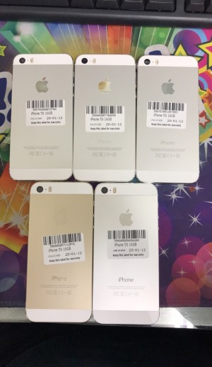 IPhone 5s 16gb unlocked with invoice