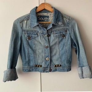 Stunning Cropped Jeans Jacket by South