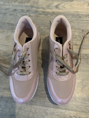 Rose Gold Trainers Size 6