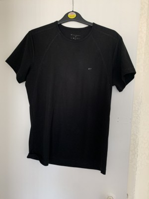 Ladies champion black T-shirt size XL