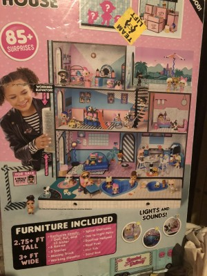 LOL giant wooden dolls house