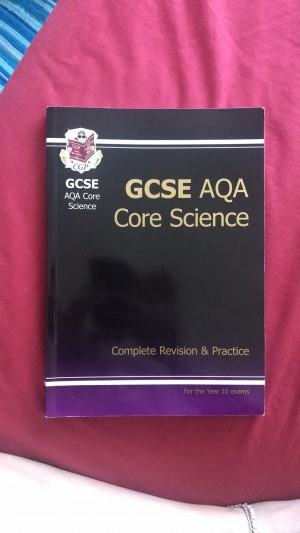 GCSE AQA CORE SCIENCE REVISION BOOK