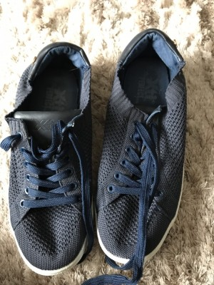 Ladies navy trainers shoes size 6