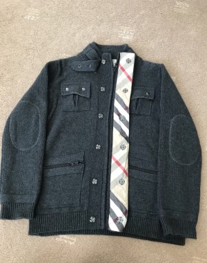 Burberry jacket age 10