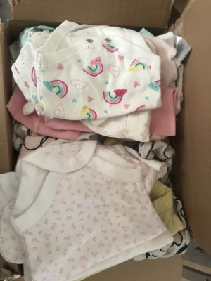 Newborn baby sleep suits and vests