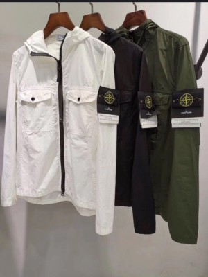 Stone Island Canvas Dyed Garment jacket