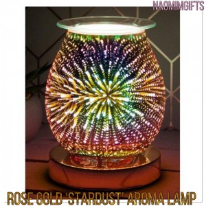 Rose Gold Stardust Aroma Lamp