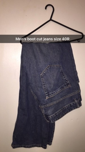 Jeans size 40R