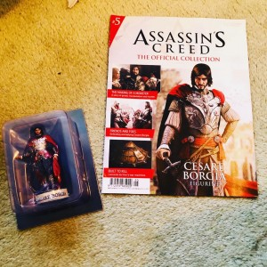 Assassin's Creed (Hachette) Official Collection Issue 03 Cesare Borgia