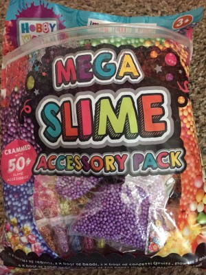 Slime accessories