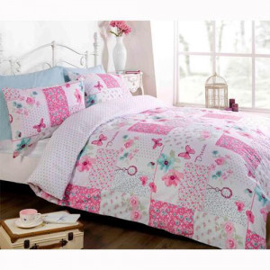 Dream Patch Work Bedding - available in single, double & king size