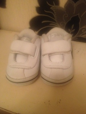 baby's NIKE trainers