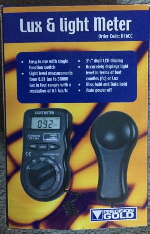 Lux Light Meter