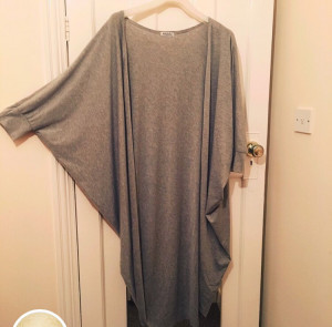 Long Grey Cardigan (You should be at least 5'3)