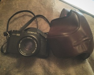 Cosina CT-10 film camera - PERFECT condition, just needs a £12 battery from online to work!