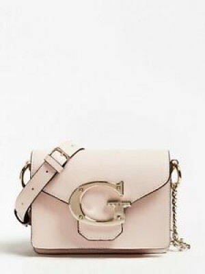 100% Genuine Guess G logo light pink Crossbody bag Original price over