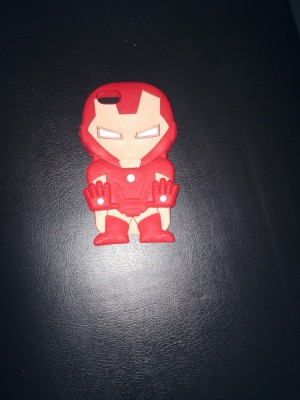 Iron man iPhone 5 silicone case