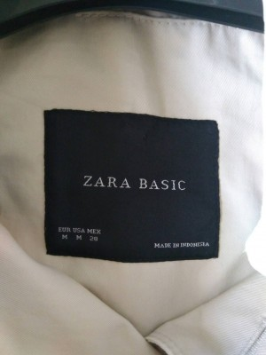 ZARA light coat