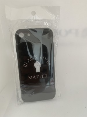 Black Lives Matter iPhone 7 & 8 Case In Plastic and Glass