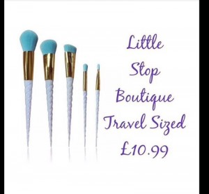 travel sizes make up brush sets
