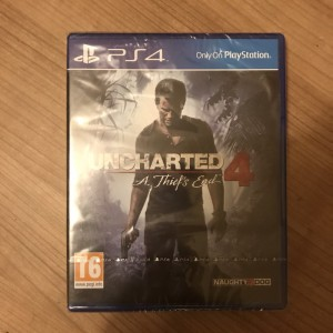 Uncharted 4 A Thief's End Brand New