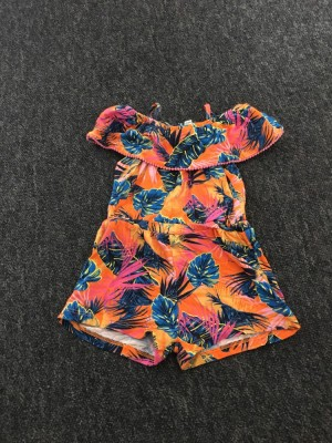 River Island tropical playsuit. Size 6-9 months